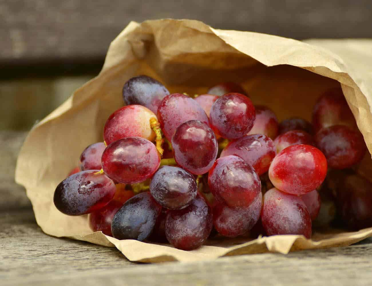 Dining: Rose grapes with fresh goat cheese