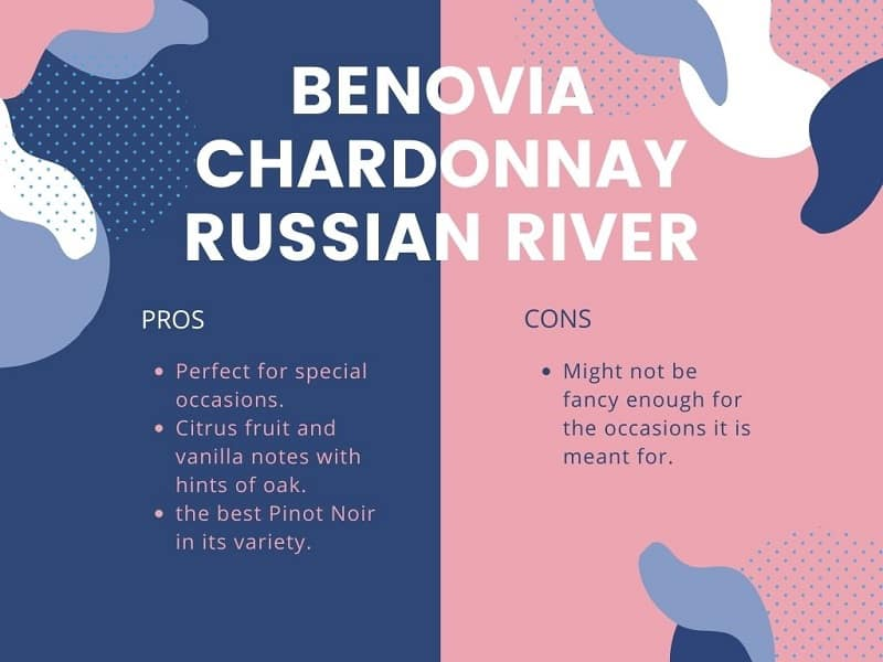 Benovia Chardonnay Russian River pros and cons