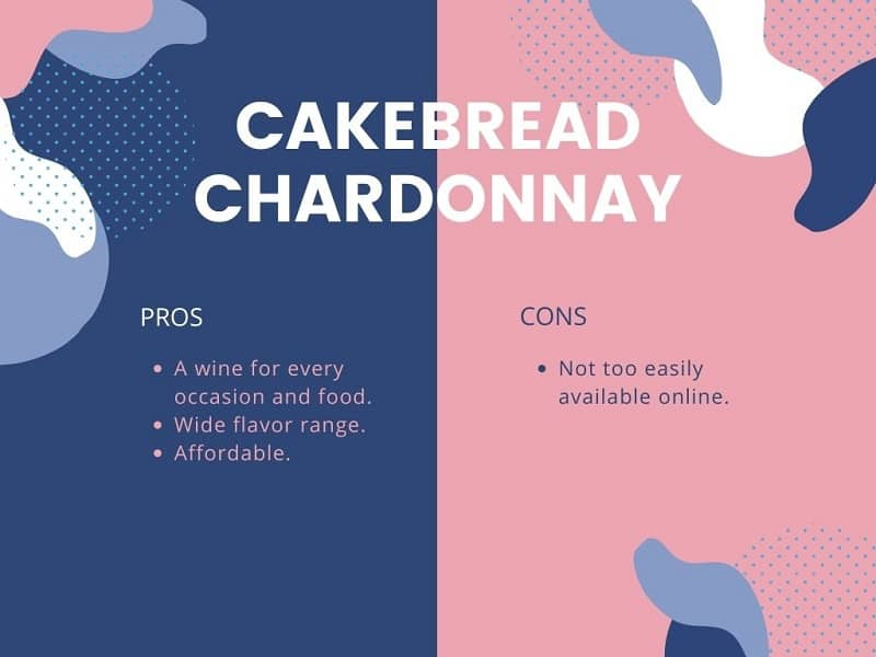 Cakebread Chardonnay pros and cons