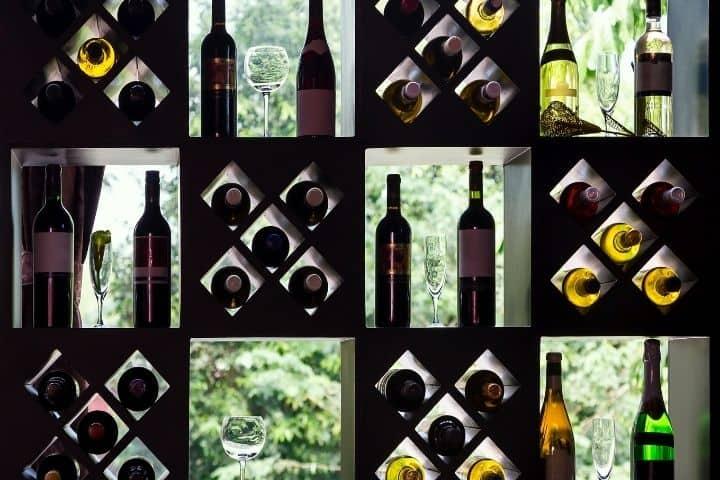 Artwork of wine