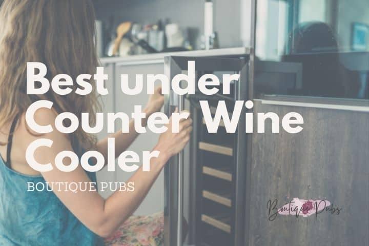 Best under Counter Wine Cooler