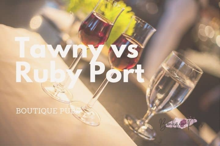 Tawny vs Ruby Port
